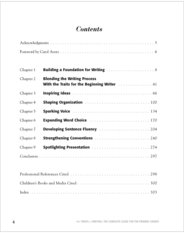 6 + 1 traits of writing: the complete guide: grades 3 and up by.