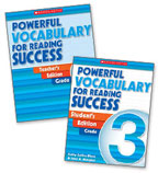 Powerful Vocabulary for Reading Success: 30 Student Workbooks + TE Grade 3
