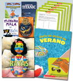 Summer Reading Spanish Fiction Grade 3 (5 Books)