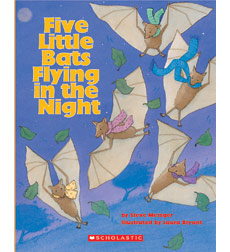 Five Little Bats Flying in the Night - Big Book & Teaching Guide