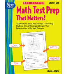 Math Test Prep That Matters! Grades 5 & Up