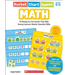 Pocket Chart Games: Math 9780545280730