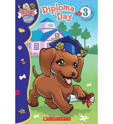 scholastic reader ® level puppy in my pocket diploma day by scholastic reader reg level 3 mdash puppy in my pocket diploma day