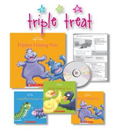 Triple Treat: Seasons, Grade 1 9780545345330