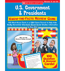 U.S. Government & Presidents: Know-the-Facts Review Game