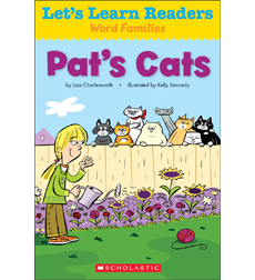 Let's Learn Readers: Pat's Cats