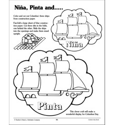 Nina, Pinta, and Santa Maria: Patterns and Activity Ideas