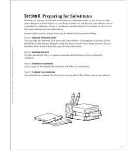 Preparing for Substitutes: Essential Forms for Teachers