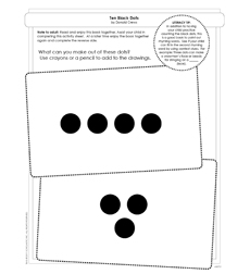 Ten Black Dots - Activity Sheet