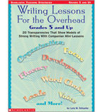 Writing Lessons For the Overhead: Grades 5 and Up