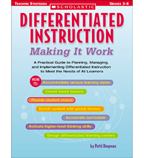 Differentiated Instruction: Making It Work