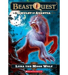 Beast Quest: Amulet of Avantia: Luna the Moon Wolf
