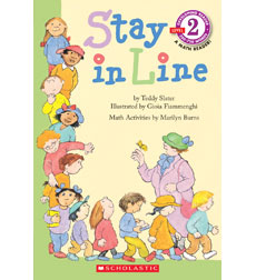 Scholastic Reader!® Level 2: Stay in Line