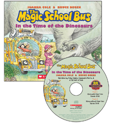 Magic School Bus, The: In the Time of Dinosaurs (Library Edition)