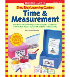 Shoe Box Learning Centers: Time & Measurement