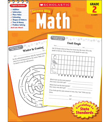 Scholastic Success With Math: Grade 2