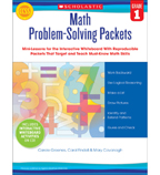 Math Problem-Solving Packets: Grade 1