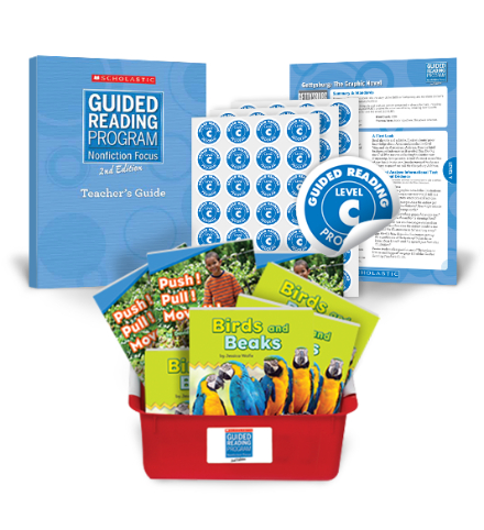 Guided Reading Nonfiction Focus 2nd Edition Level C