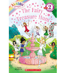 Scholastic Reader!® Level 2-Rainbow Magic: The Fairy Treasure Hunt 9780545384933