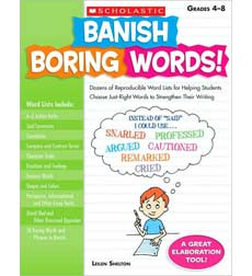 list of boring words pdf