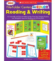 Mini File–Folder Centers in Color: Reading & Writing (2–3)
