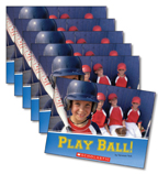 Guided Reading Set: Level J – Play Ball!