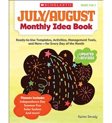 July & August Monthly Idea Book