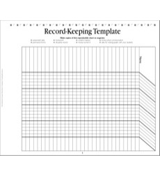 record keeping template teacher planning page by