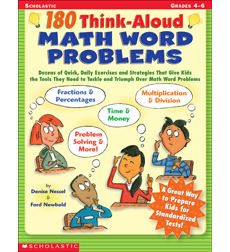 180 Think-Aloud Math Word Problems