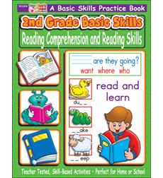 2nd Grade Basic Skills Reading Comprehension And Reading Skills By