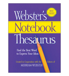 Webster's Notebook Thesaurus Classroom Set