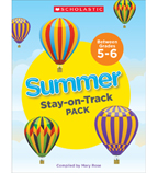 Summer Stay-on-Track Pack Between Grades 5 and 6