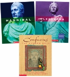 Scholastic Trio Individual Theme Unit Set 6, Social Studies - Ancient World Leaders, Grades 6-7