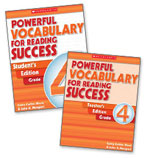 Powerful Vocabulary for Reading Success: 30 Student Workbooks + TE Grade 4