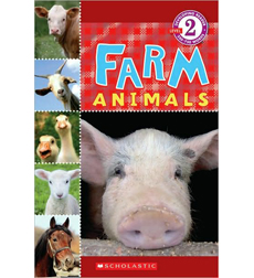 Scholastic Reader!® Level 2: Farm Animals