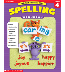 Scholastic Success With Spelling (Grade 4)