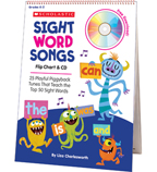 Sight Word Songs Flip Chart & CD