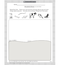 Wonderful Worms - Activity Sheet