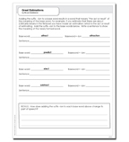 Great Estimations - Activity Sheet