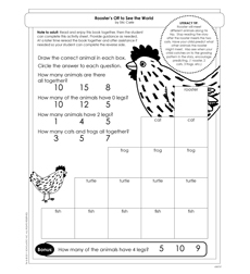 Rooster's Off to See the World - Activity Sheet