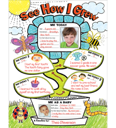 Graphic Organizer Posters: My Timeline: Grades K–2