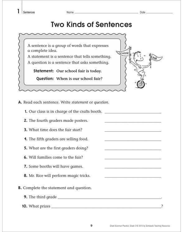 Great Grammar Practice: Grade 3 by Linda Ward Beech