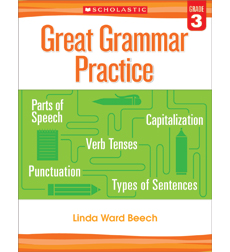 Great Grammar Practice: Grade 1 by Linda Ward Beech