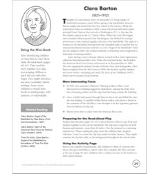 Clara Barton: Person of the Month (December)