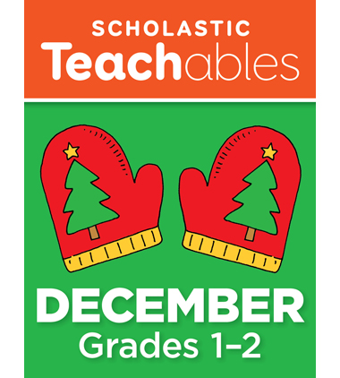December Grades 1-2 Printable Packet