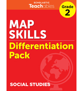 Map Skills Grade 2 Differentiation Pack