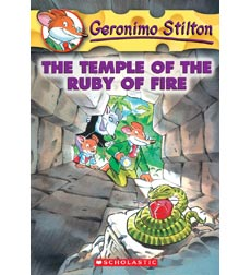 Geronimo Stilton: The Temple of the Ruby of Fire