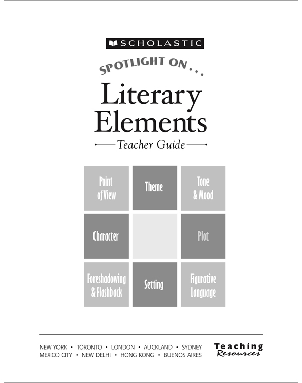 Spotlight On Literary Elements By Tara Mccarthy