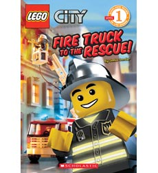 Scholastic Reader!® Level 1—LEGO® City: Fire Truck to the Rescue!