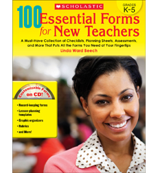 100 Essential Forms for New Teachers